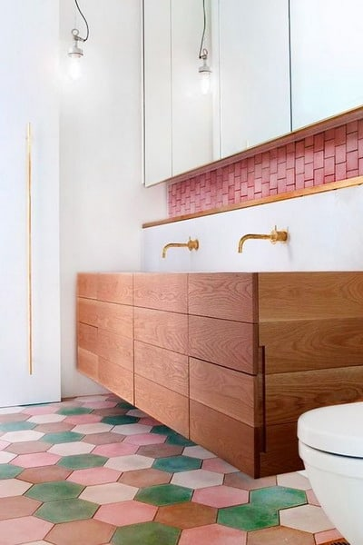 terracotta bathroom tiles