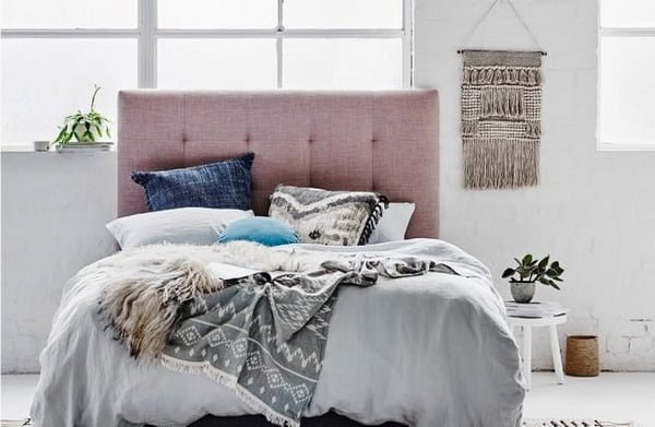 upholstered bed headboard trends