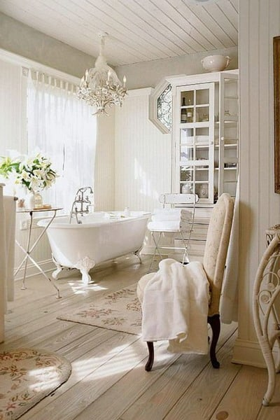 Rustic Bathroom Interior Decor Trends 2019