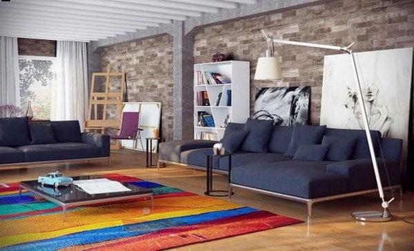 minimalist living room decor trends 2019