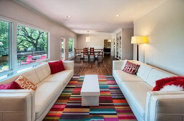 colorful living room decor trends 2019