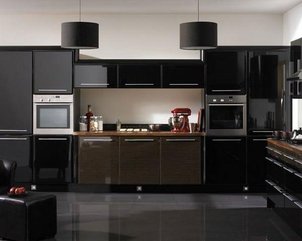 black kitchen cabinets Interior Decor Trends 2019