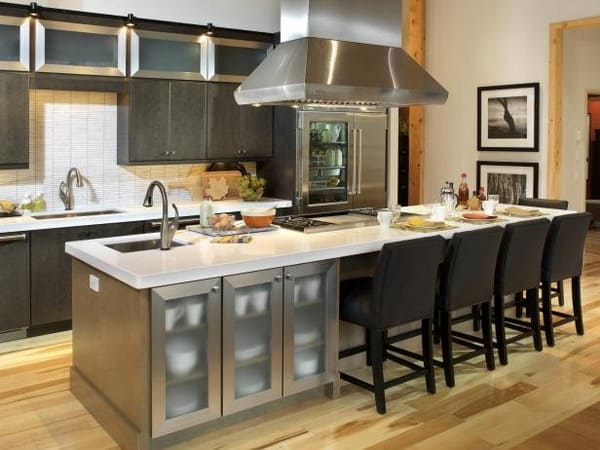 kitchen island trends 2019