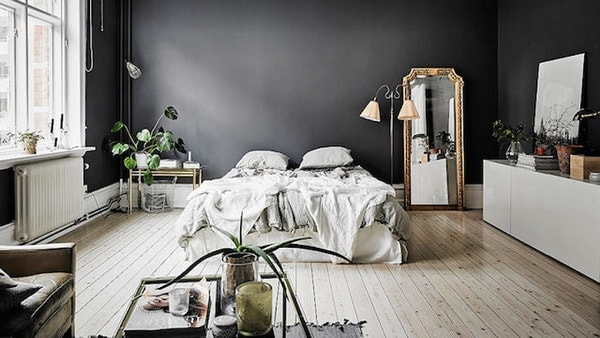 Black Colors in Interior Decoration Trends 2019