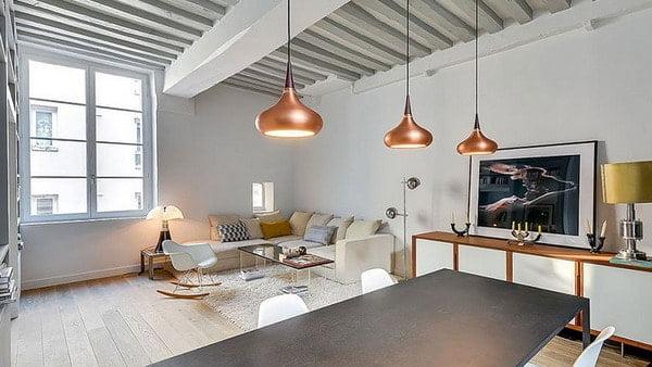 Copper Colors in Interior Decoration Trends 2019