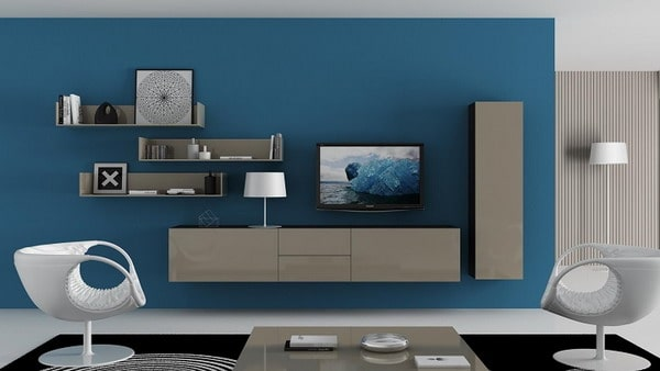 Indigo Colors in Interior Decoration Trends 2019
