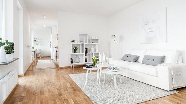 White Colors in Interior Decoration Trends 2019