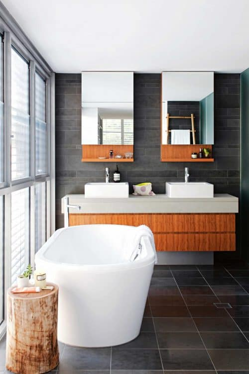 Top trends modern bathroom designs 1 interior decor trends for Bathroom design 2019