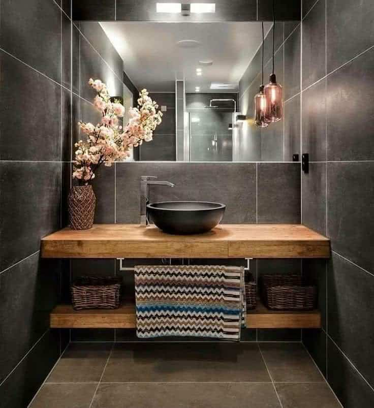 Top trends modern bathroom designs 10 interior decor trends for Bathroom design 2019