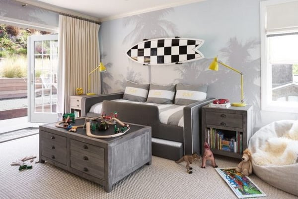 Kids bedroom wallpaper trends