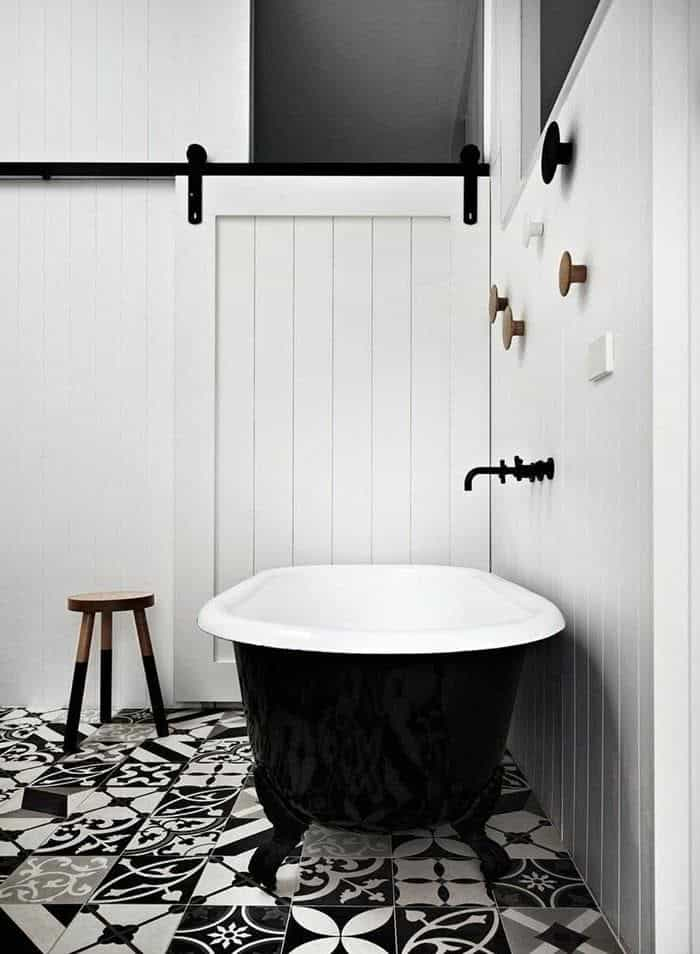 Monochromatic Bathroom Color Trends 2019