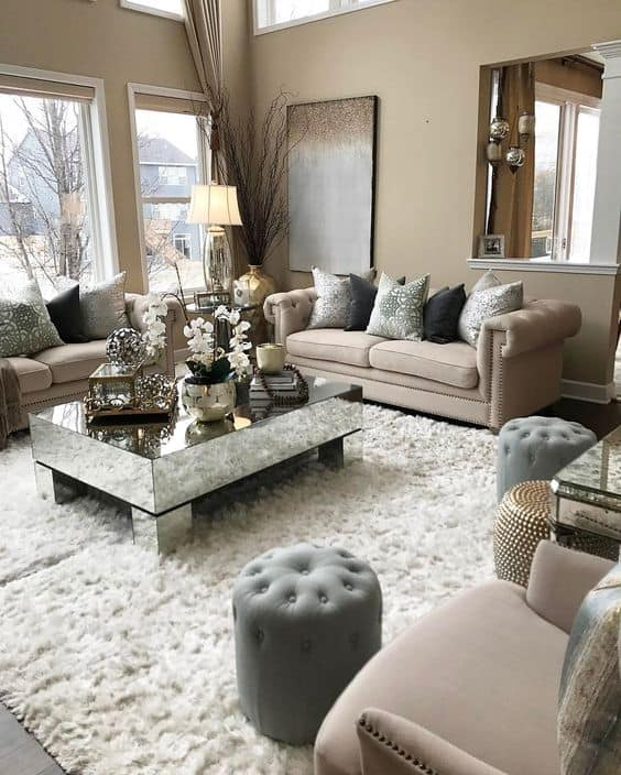 5 Living Rooms That Demonstrate Stylish Modern Design Trends: How To Decorate Your Living Room This 2019