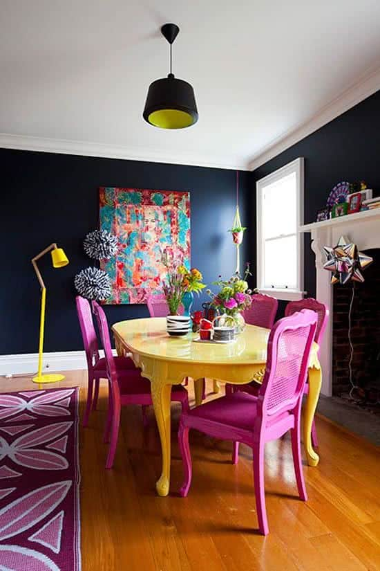Latest Trend Colors For Modern Dining Room Design 2019
