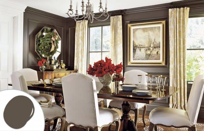 Brown Dining Room Color Trends ...