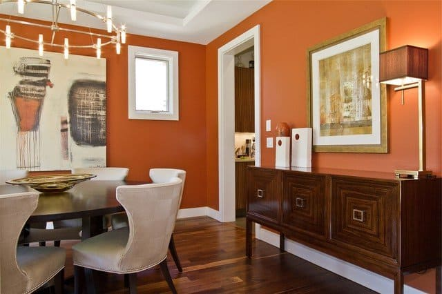 Trend Colors for Modern Dining Room