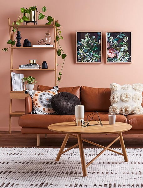 Earthy Orange. Painting Color Trends 2019