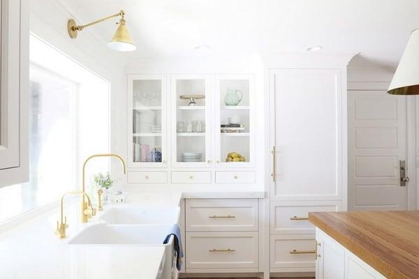 White Kitchen Color Schemes 2019 in 20 Hyper Trend Ideas ...