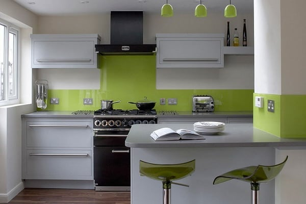 White Kitchen Color Schemes 2019