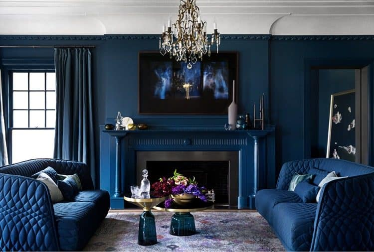 Popular trends for living room decor a mix of colors and Couleur tendance salon 2017
