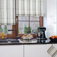 Choosing Fashionable Curtains 2020 for the Kitchen