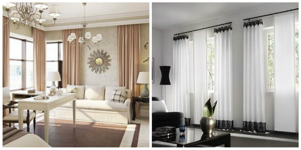 Modern Curtains 2020: All the Options of the Design of the ...