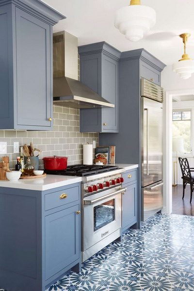 Newest Trend Colors for Kitchens 2021