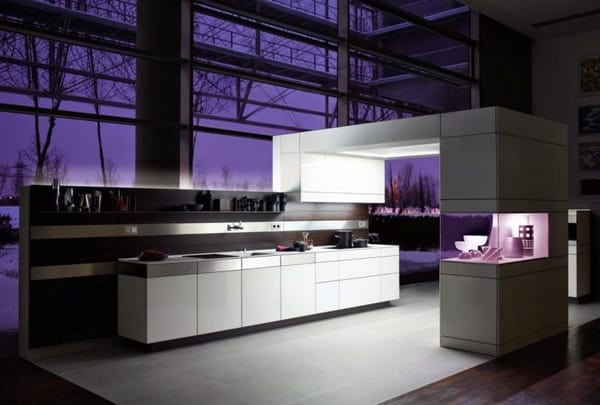 High-tech style interior trends 2020