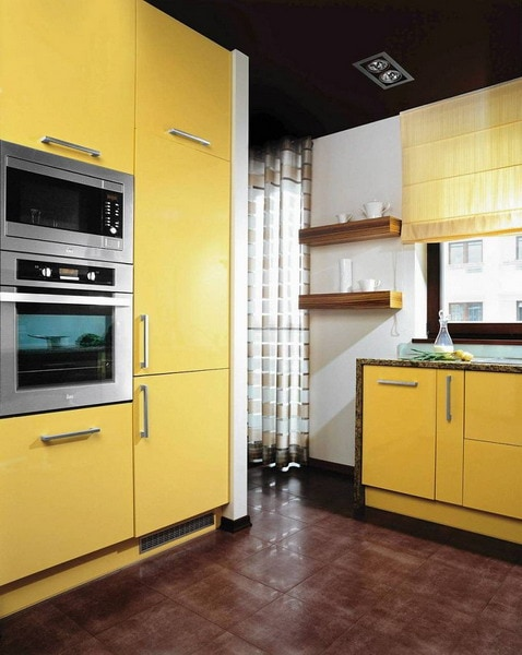 Kitchen design 2021: what colors will be fashionable in the interior of 2021